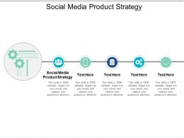 Social Media Product Strategy Ppt Powerpoint Presentation Styles Inspiration Cpb