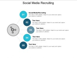 Social Media Recruiting Ppt Powerpoint Presentation Show Display Cpb