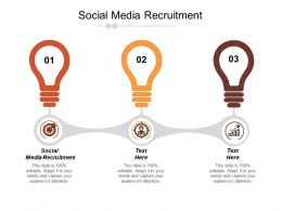 Social Media Recruitment Ppt Powerpoint Presentation Infographic Template Good Cpb