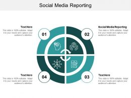 Social Media Reporting Ppt Powerpoint Presentation Show Structure Cpb
