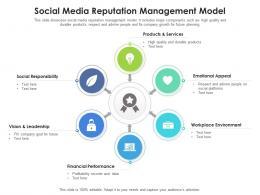 Social Media Reputation Management Model