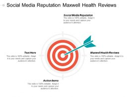 Social Media Reputation Maxwell Health Reviews Action Items Cpb