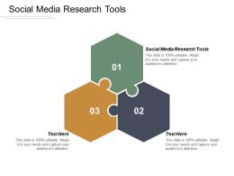Social Media Research Tools Ppt Powerpoint Presentation Gallery Show Cpb