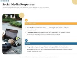 Social Media Responses Statement Soon Ppt Powerpoint Presentation Infographics Visual Aids