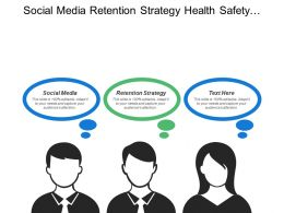 Social Media Retention Strategy Health Safety Strategy Discussions