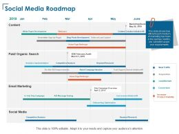 Social Media Roadmap Competitive Analysis Ppt Powerpoint Presentation Infographics Styles