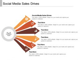 Social Media Sales Drives Ppt Powerpoint Presentation Infographics Design Templates Cpb