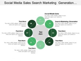 Social Media Sales Search Marketing Generation Affiliate Marketing