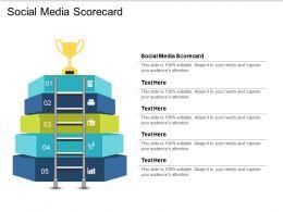 Social Media Scorecard Ppt Powerpoint Presentation Gallery Slide Cpb