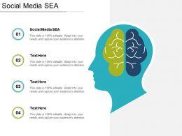 Social Media Sea Ppt Powerpoint Presentation Ideas Diagrams Cpb