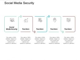 Social Media Security Ppt Powerpoint Presentation Gallery Graphics Design Cpb