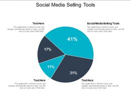 Social Media Selling Tools Ppt Powerpoint Presentation Gallery Example Cpb