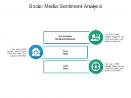 Social Media Sentiment Analysis Ppt Powerpoint Presentation Styles Shapes Cpb