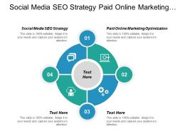Social Media Seo Strategy Paid Online Marketing Optimization Cpb