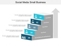 Social Media Small Business Ppt Powerpoint Presentation Infographic Template Pictures Cpb