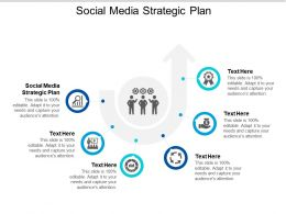 Social Media Strategic Plan Ppt Powerpoint Presentation Inspiration Deck Cpb