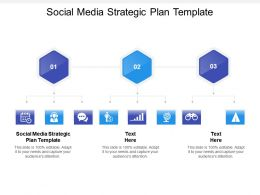 Social Media Strategic Plan Template Ppt Powerpoint Presentation Outline Cpb