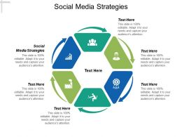 Social Media Strategies Ppt Powerpoint Presentation Ideas Portrait Cpb