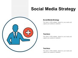 Social Media Strategy Ppt Powerpoint Presentation Infographics Design Templates Cpb