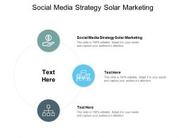 Social Media Strategy Solar Marketing Ppt Powerpoint Presentation Styles Skills Cpb