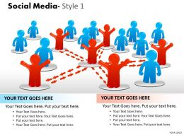 Social Media Style 1 diagram 3