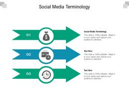 Social Media Terminology Ppt Powerpoint Presentation File Layout Cpb