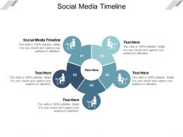 Social Media Timeline Ppt Powerpoint Presentation Slides Brochure Cpb