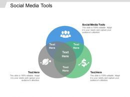 Social Media Tools Ppt Powerpoint Presentation File Templates Cpb