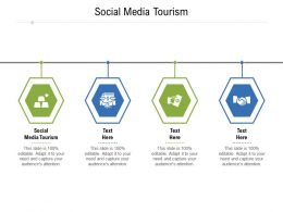 Social Media Tourism Ppt Powerpoint Presentation File Inspiration Cpb