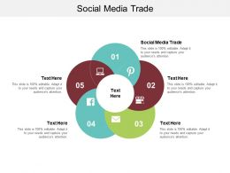 Social Media Trade Ppt Powerpoint Presentation Infographic Template Aids Cpb