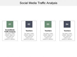 Social Media Traffic Analysis Ppt Powerpoint Presentation Ideas Outline Cpb