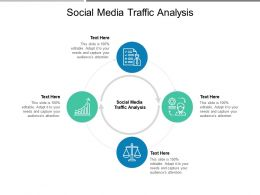 Social Media Traffic Analysis Ppt Powerpoint Presentation Show Influencers Cpb