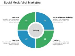 Social Media Viral Marketing Ppt Powerpoint Presentation Show Icons Cpb