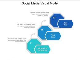 Social Media Visual Model Ppt Powerpoint Presentation Styles Slide Cpb