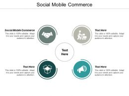 Social Mobile Commerce Ppt Powerpoint Presentation Infographic Template File Formats Cpb