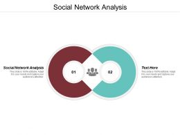 Social Network Analysis Ppt Powerpoint Presentation Ideas Templates Cpb