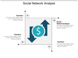 Social Network Analysis Ppt Powerpoint Presentation Styles Icons Cpb