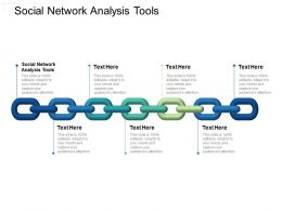 Social Network Analysis Tools Ppt Powerpoint Presentation Layouts Aids Cpb