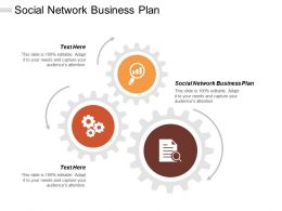 Social Network Business Plan Ppt Powerpoint Presentation Gallery Graphic Images Cpb