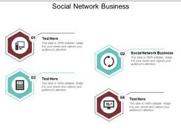 Social Network Business Ppt Powerpoint Presentation Infographics Layouts Cpb