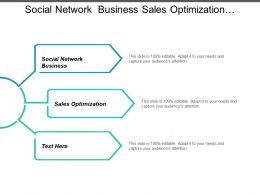 Social Network Business Sales Optimization Franchise Ecommerce Sales Optimization Cpb
