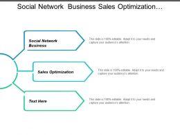 Social Network Business Sales Optimization Franchise Ecommerce Sales Optimization Cpb