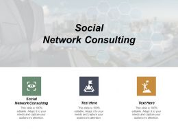 Social Network Consulting Ppt Powerpoint Presentation Icon Slideshow Cpb