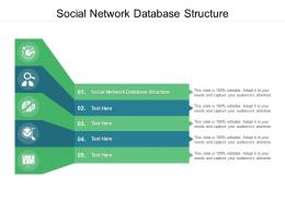 Social Network Database Structure Ppt Powerpoint Presentation Designs Download Cpb