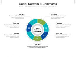 Social Network E Commerce Ppt Powerpoint Presentation Outline Graphics Design Cpb