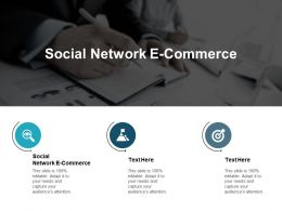 Social Network E Commerce Ppt Powerpoint Presentation Styles Maker Cpb