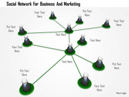Social Network For Business And Marketing Image Graphics For Powerpoint