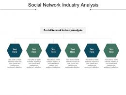 Social Network Industry Analysis Ppt Powerpoint Presentation Model Design Inspiration Cpb