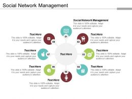 Social Network Management Ppt Powerpoint Presentation Gallery Master Slide Cpb