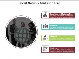 Social Network Marketing Plan Ppt Powerpoint Presentation Gallery Styles Cpb